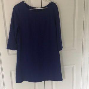 H&M Royal Blue shift dress